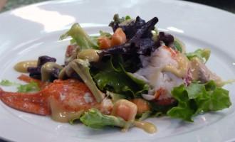 iria-castro-chef-catering-ensalada-de-bogavante-papaya-y-vinagreta-de-mostaza