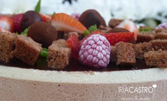 tarta de dos chocolates