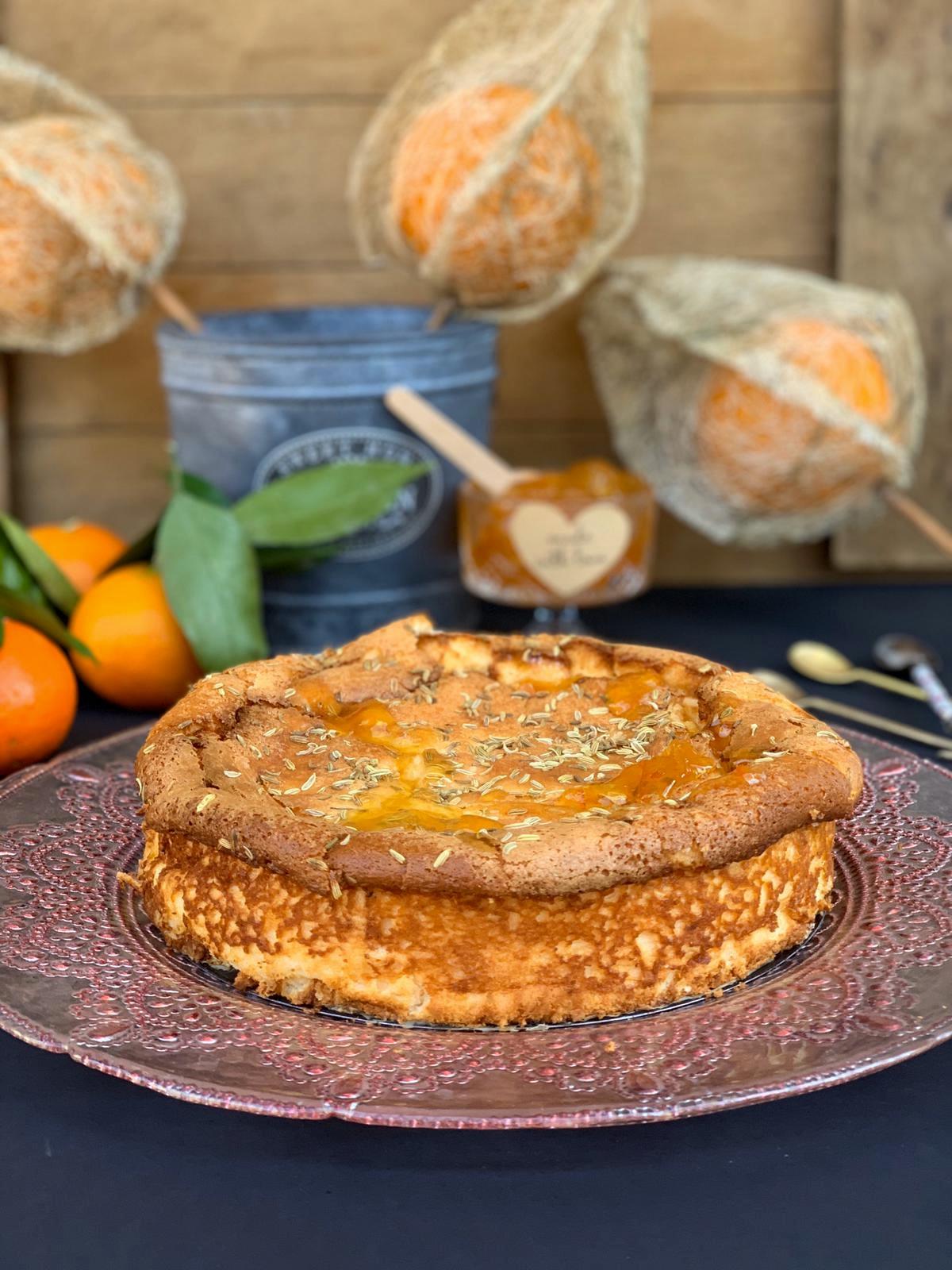 Cursos de cocina en Madrid por Iria Castro - Cheese Cake